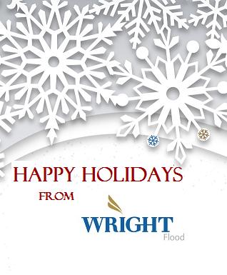 Happy Holidays from Wright Flood