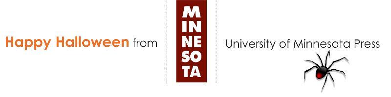 Happy Halloween from University of Minnesota Press