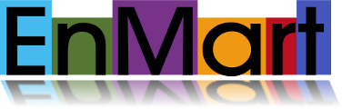 EnMart mirrored logo