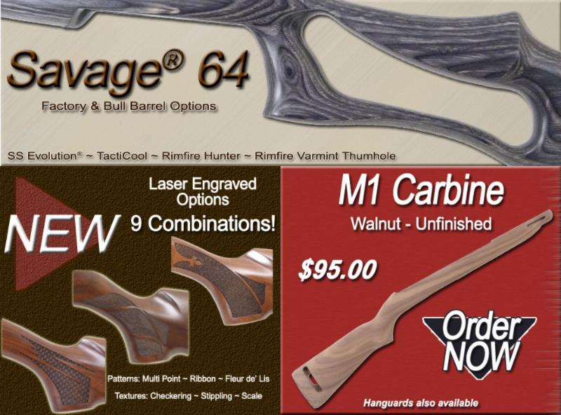 Savage  64 ~ Laser Options for Classic & Prairie Hunters
