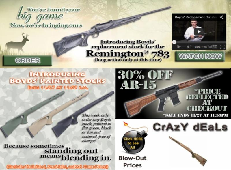 Boyds Specials Remington 783 Free Texture Paint Upgrade 30