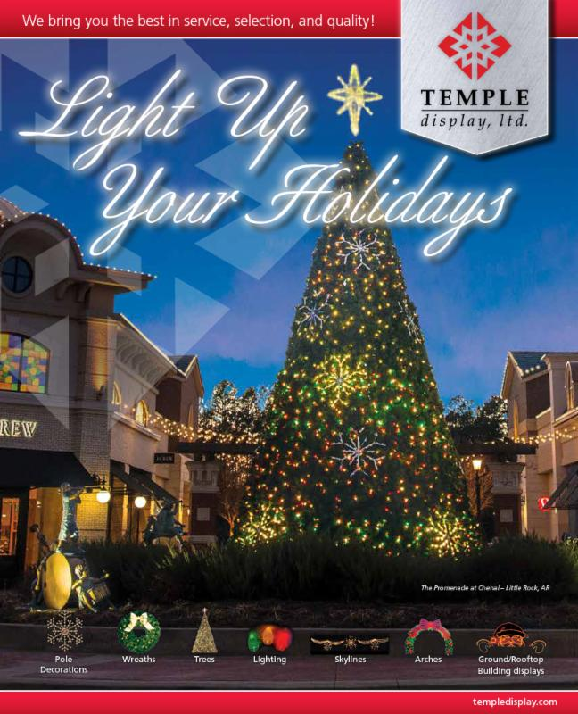 NEW 2015 Commercial Holiday Decor Catalog | Temple Display, Ltd. in ...