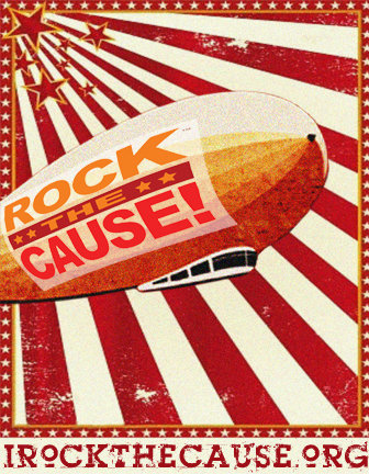 Rock the Cause will go off like a Led Balloon