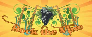 Rock the Vine logo