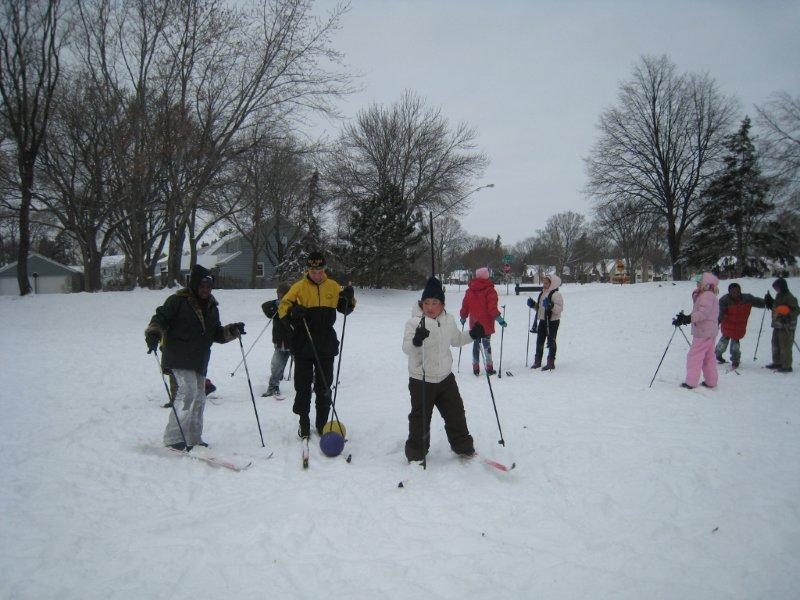 Skiing at Loring