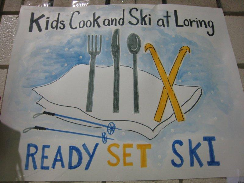 Kids Cook and Ski at Loring