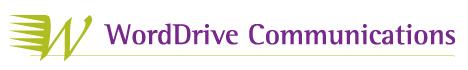 WordDrive logo