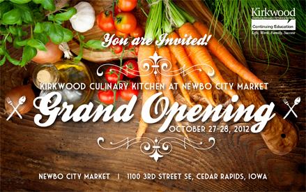 kirkwood culinary kitchen at newbo city market grand opening