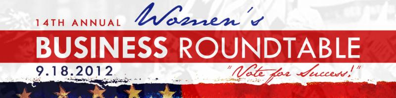 Women's Business Roundtable 2012