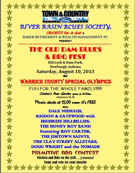 Old Dam Blues and BBQ Fest