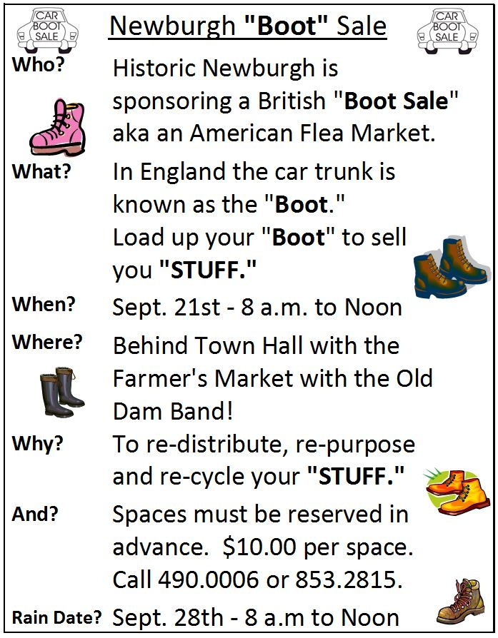Boot Sale 2013