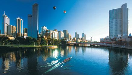 City of Melbourne & Yarra River