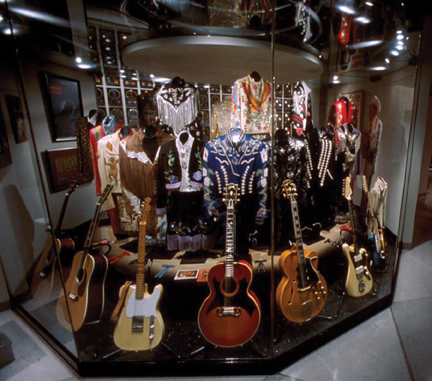 Country Music Hall of Fame guitars