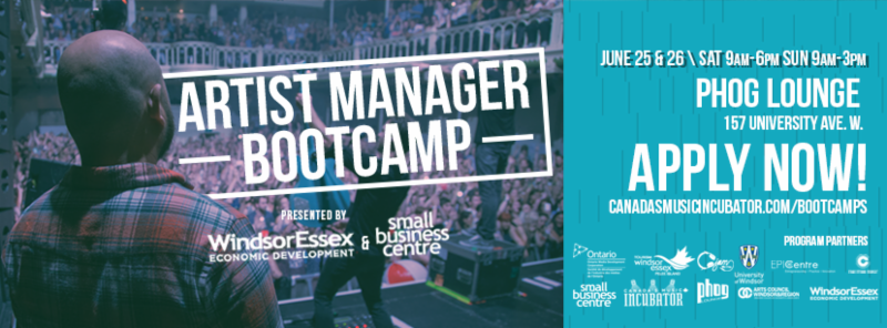 Artist Manager Bootcamp poster