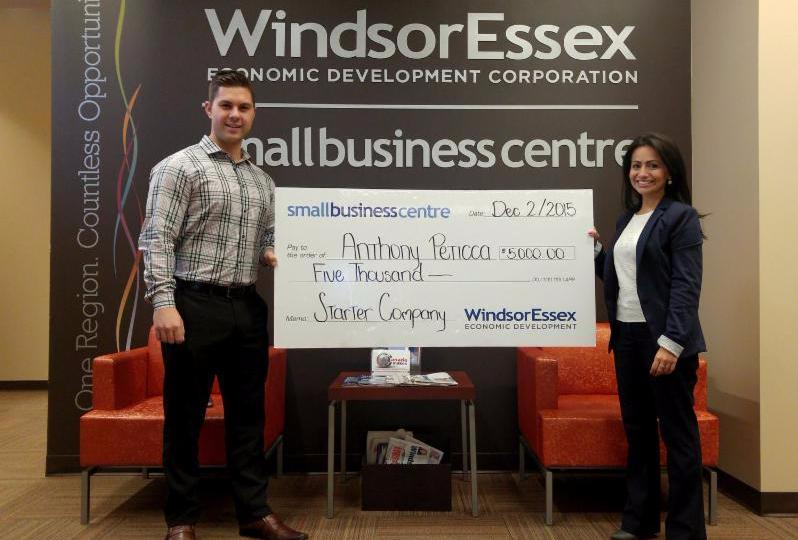 Anthony Peticca - Starter Company grant recipient