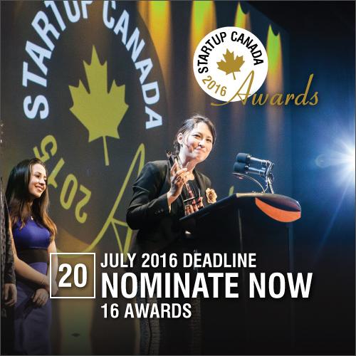 Startup Canada Awards