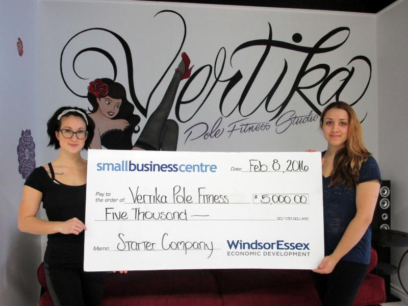Vertika Pole Fitness Starter Company grant