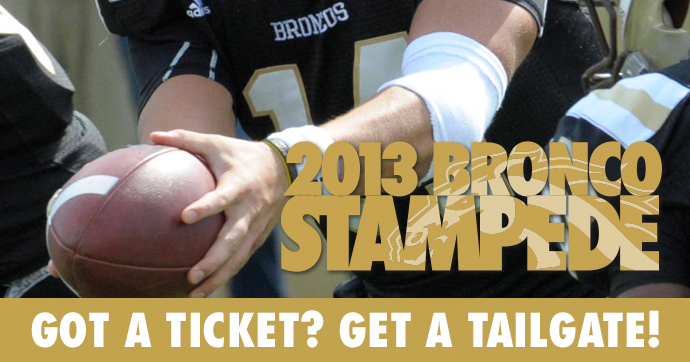 Bronco Stampede Logo
