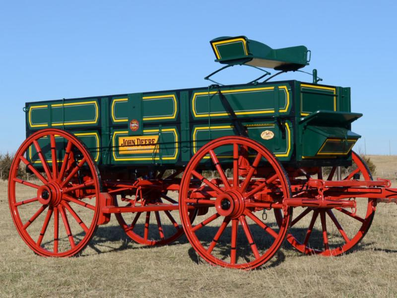 Restored John Deere Wagon