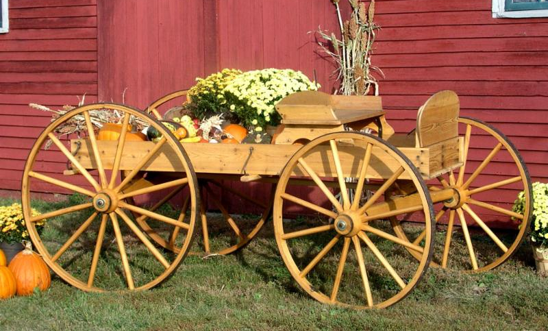 Buckboard Wagon Kit