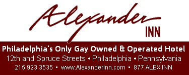 Click HERE to connect to Philadelphia's only GAY owned and operated hotel!