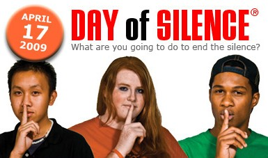 Click to learn more about the National Day of Silence!