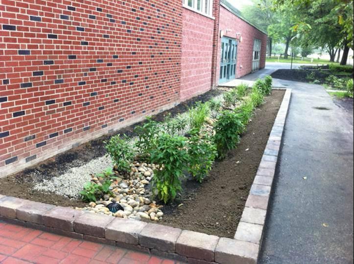Rain Garden Horne St Elementary (Dover)
