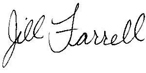 Jill's Signature