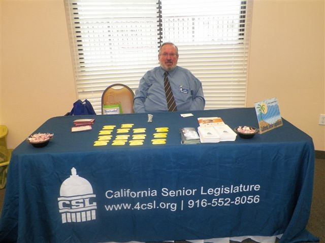 Dieter at Fountain Valley Senior Expo