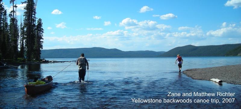 Yellowstone Canoe Trip