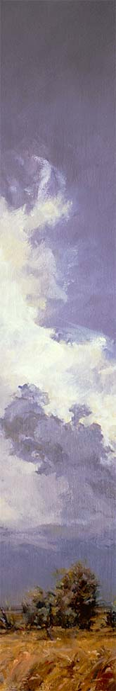 "Detail of ""Late Summer, High Plains"""
