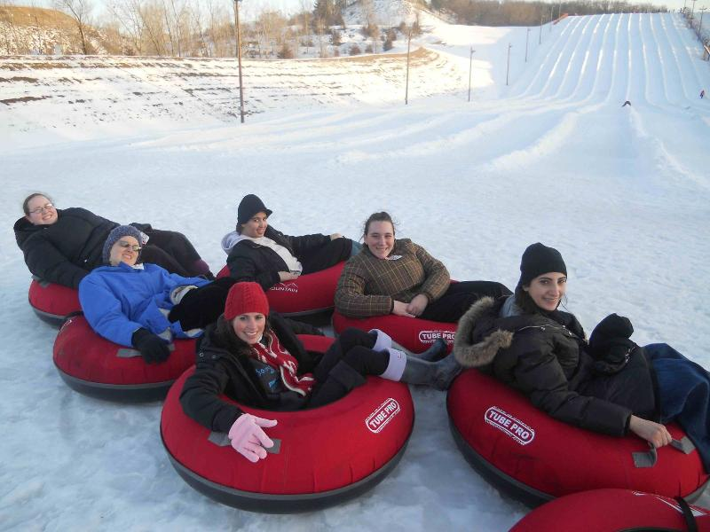 TI Students Snow Tubing Feb 26
