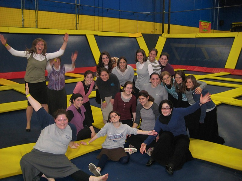 Group Photo at Sky High Zone