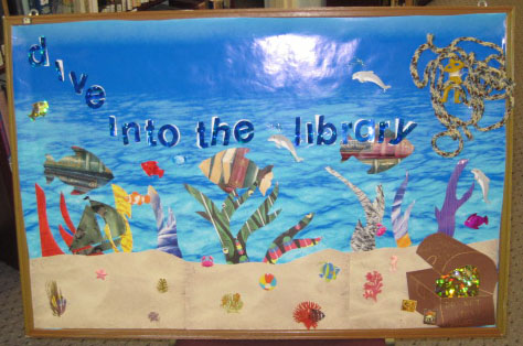 Library Bulletin Board Display