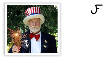 John 'Uncle Sam' Friel