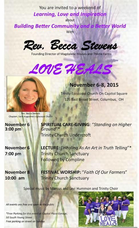 Becca Stevens event flyer
