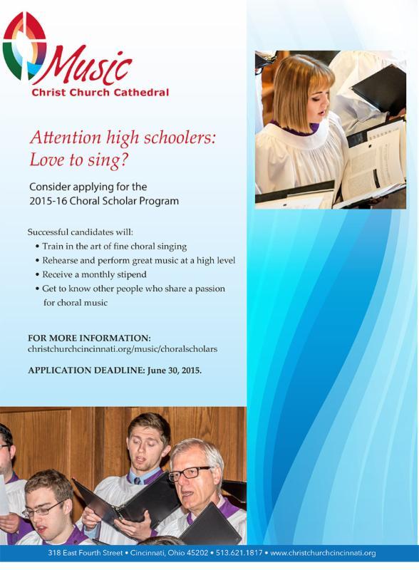 Choral Scholar