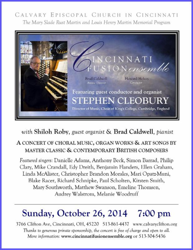 Cleobury flyer