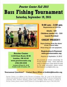 Bass Fishing flyer