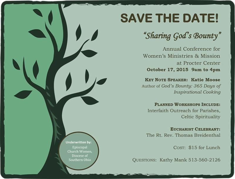 Womens conference flyer