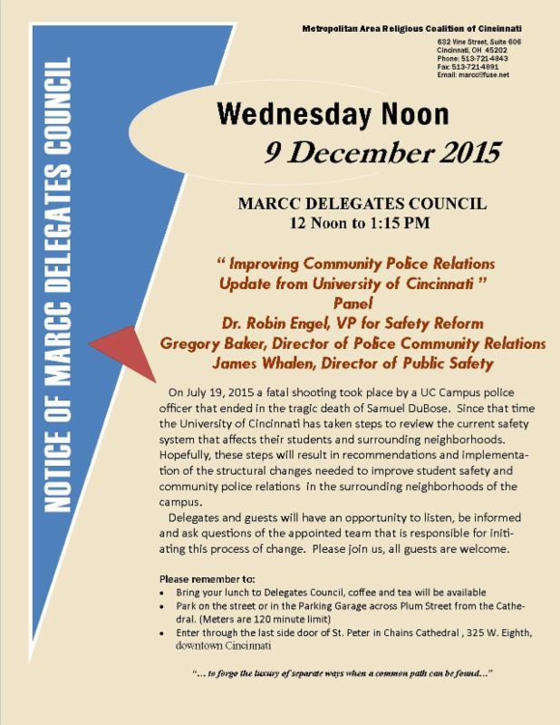 MARCC delegate council