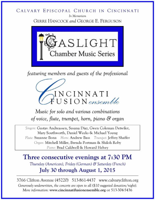 Gaslight Chamber Music Series