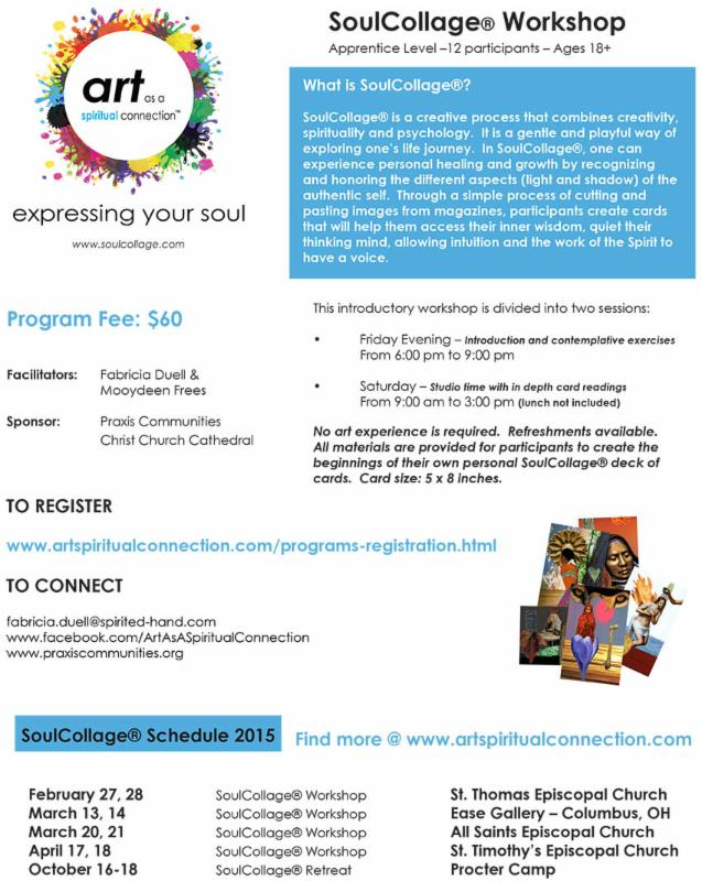 Soul Collage flyer