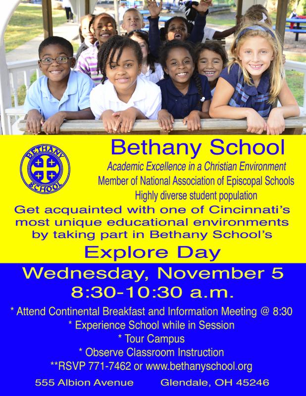Bethany flyer