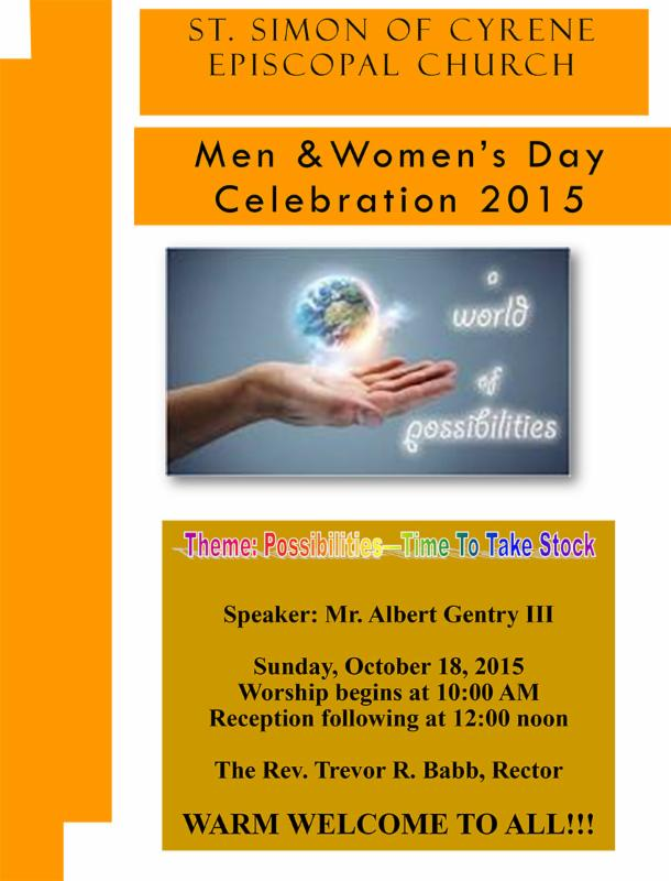 Men and Women's Day