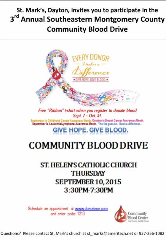 Community Blood Drive 2
