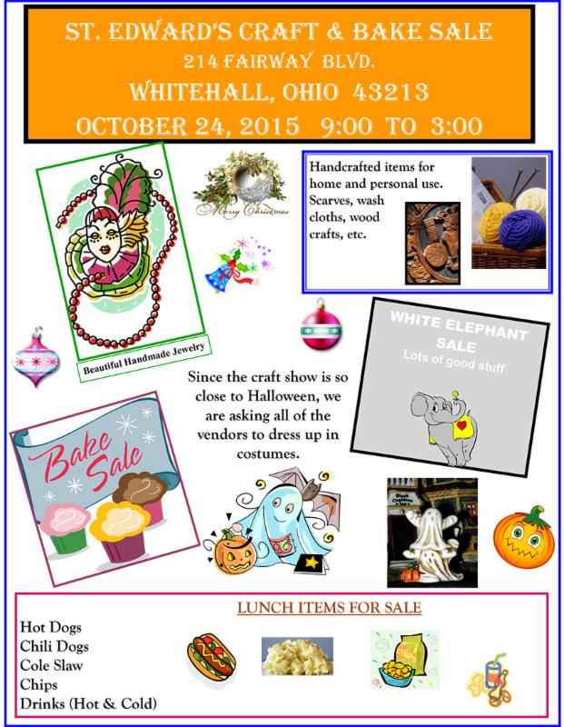 Craft Sale flyer