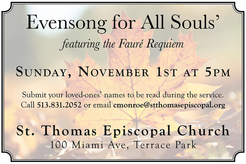 Evensong flyer