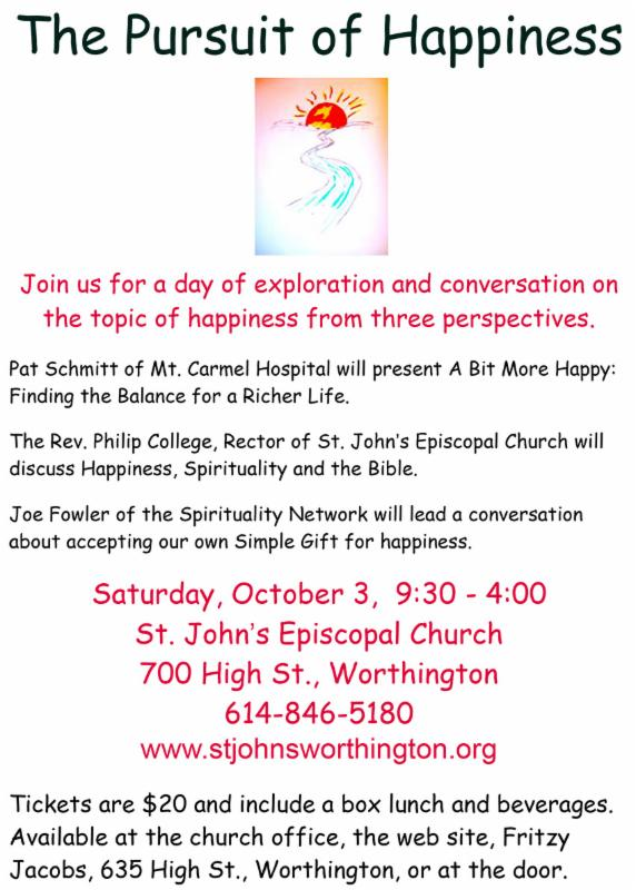 Happiness flyer