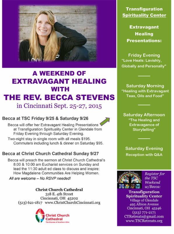 Becca Stevens flyer